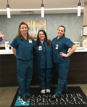 staff Lancaster Specialty Surgery Center
